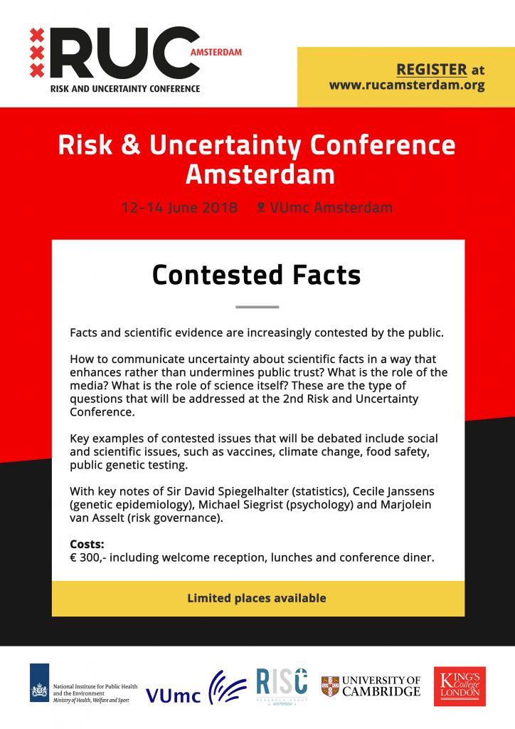 RUC Amsterdam notice